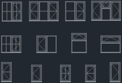 window section cad block windows plan elevation cad blocks free cad blocks and