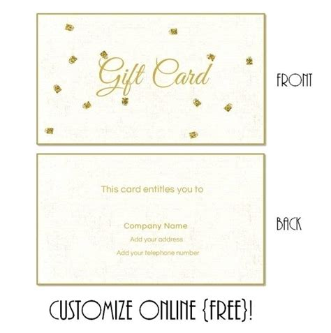 personalized gift certificates template free personalized gift certificate template personalised gift