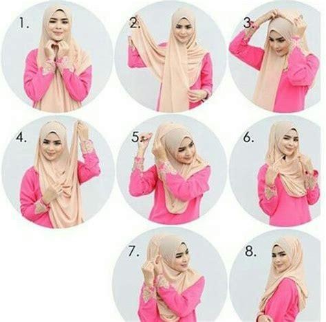 tutorial hijab turban masa kini kumpulan tutorial hijab simple dan praktis paling cantik