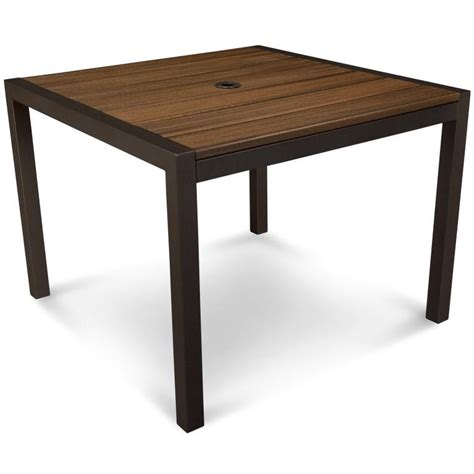 square parsons dining table trex parsons square harvest dining table 39