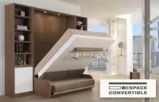 le lit escamotable une solution gain de place espace