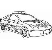 Afilli Polis Arabası Boyama Sayfası  Sayfa