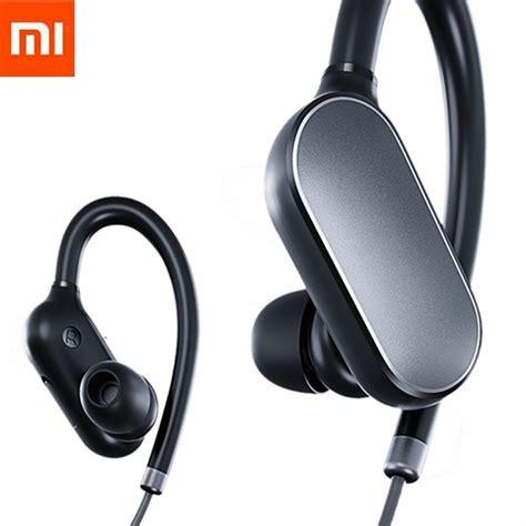Headset Xiaomi Bluetooth original xiaomi mi bluetooth headset wireless sport earbuds with microphone waterproof bluetooth