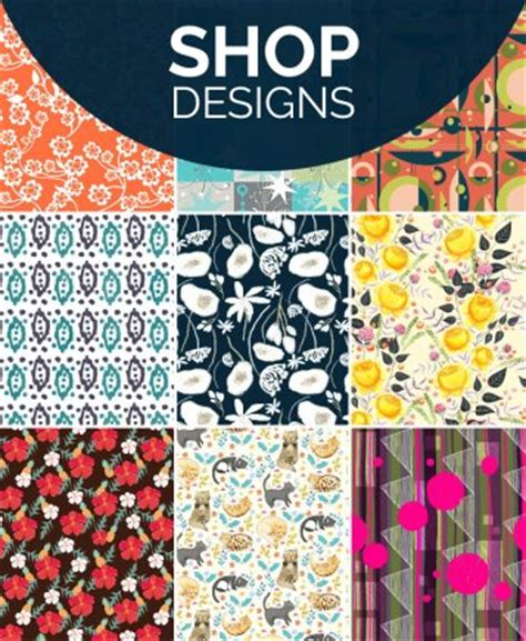 my fabric designs custom printed fabric shop or design your own