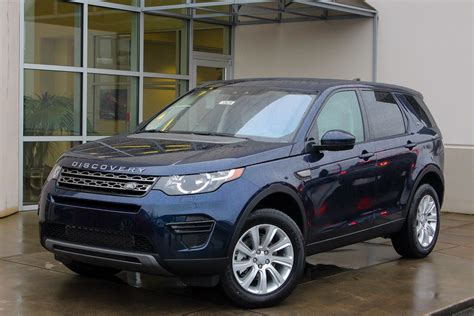 new 2017 land rover discovery sport se sport utility in
