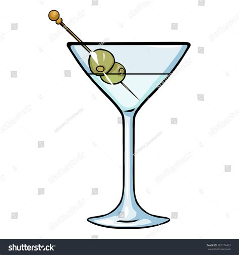 martini cartoon pin cocktail glass cartoon on pinterest