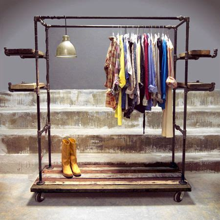 Industrial Pipe Clothing Rack by 25 Best Ideas About Pipe Clothes Rack On Clothes Racks Clothing Racks And