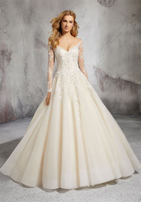 laurel wedding dress style 8281 morilee