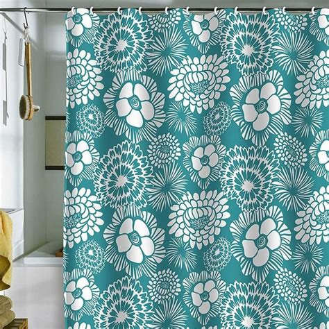 teal bathroom curtains 17 best ideas about teal shower curtains on pinterest