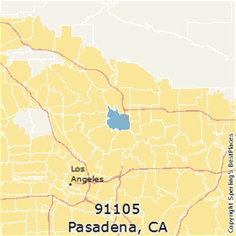 zip code map pasadena ca best places to live in pasadena zip 91105 california