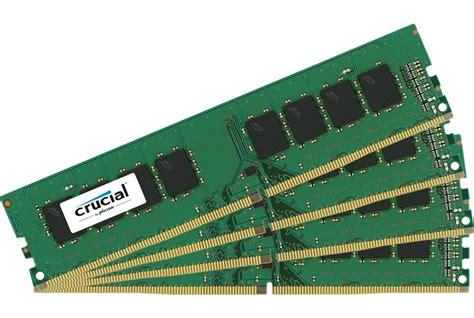 Ram Ddr4 4gb 2400mhz crucial 16gb 4x4gb channel ddr4 2400mhz pc3 19200 udimm ct4k4g4dfs824a ccl computers