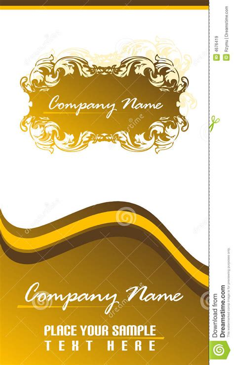 business cards templates 2x3 5 business card 2x3 5 royalty free stock images image 4676419