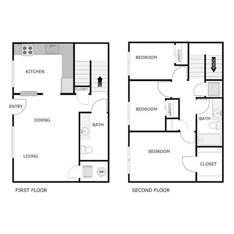average square footage of a 3 bedroom apartment 3 bedroom 1 5 bath apartment valley view estates
