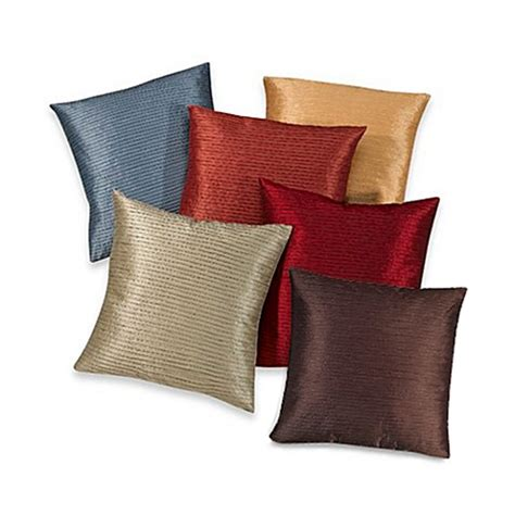 pillows bed bath and beyond julia pleat toss pillow bed bath beyond