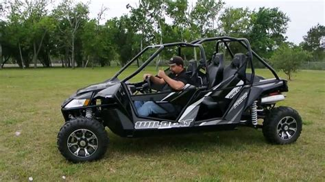 roading in a wildcat 4 seater and a ground clearance