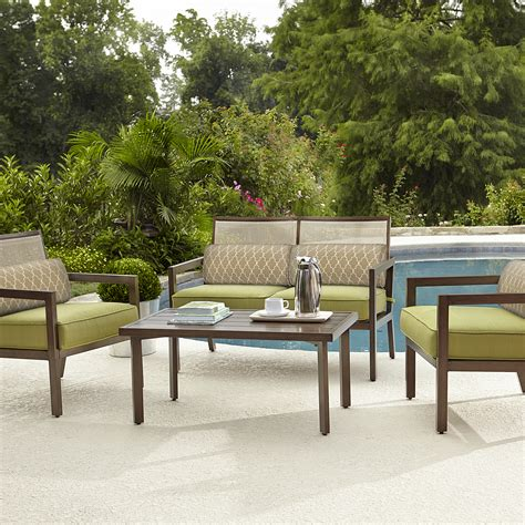 la z boy outdoor drew 4 pc seating set outdoor living
