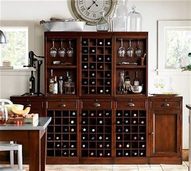 pottery barn modular bar cabinet modular bar cabinet 3 wine grid 2 cabinet bases 2 open