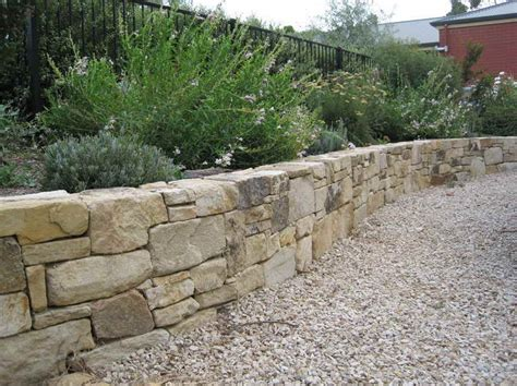 walls how to build a retaining wall with natural stone how to build a retaining wall landscape