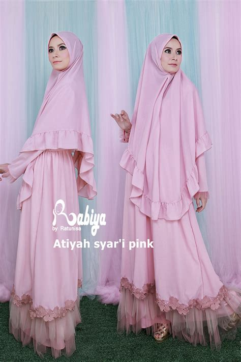 Zoelle Syari Ori By Eric Summer atiyah syari mocca by rabiya baju muslim gamis modern