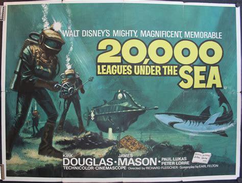 20000 leagues under the 20 000 leagues under the sea original british quad steunk movie cinema poster