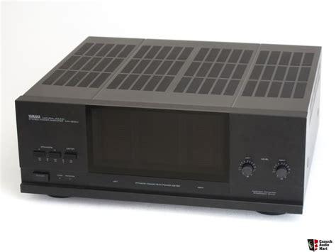yamaha mx 600u stereo power lifier photo 1064734 canuck audio mart