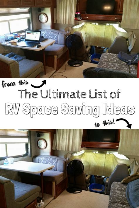space saving ideas for rv space saving ideas the guide the wandering rv