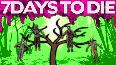 7 days to die by youalwayswin zombies grow on trees 7 days to die 26