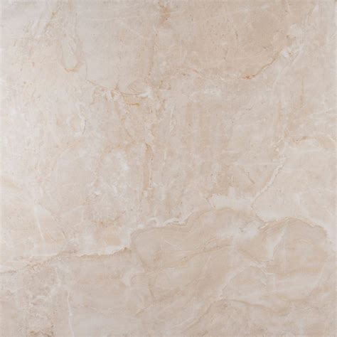 Proclin White msi onyx ivory 18 in x 18 in glazed porcelain floor and