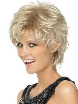 Playful Shag Haircut For Over 40 | playful short shag lightweight spiky cut wig short blonde