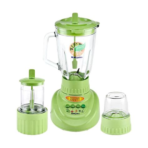 Miyako Blender Bl 151gf 1 5 L jual miyako bl152gf blender glass 3in1 1 5 l 300 w