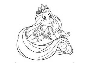 free coloring pages tangled rapunzel flynn