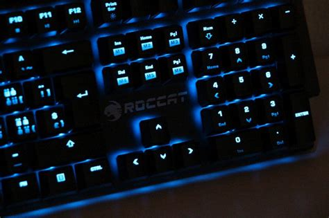 Roccat Suora Mechanical Gaming Keyboard Frameless roccat suora frameless mechanical gaming keyboard geeks3d