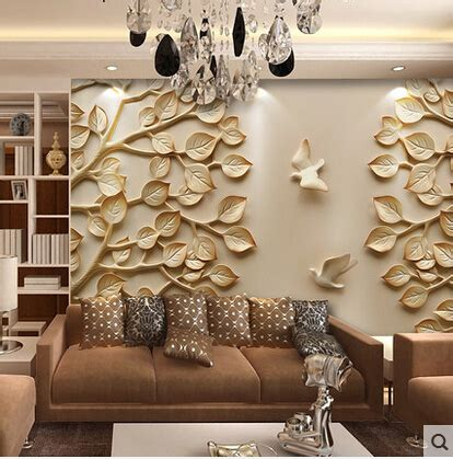 New Item Cubic Puzzle 3d Great Wall Large Size european wallpaper mural large 3d wall paper leaves for tv
