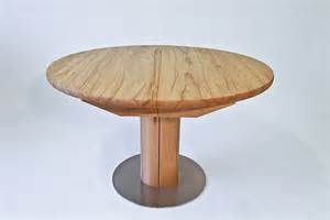 runder tisch mit stühlen esstisch holz ausziehbar rund bvrao