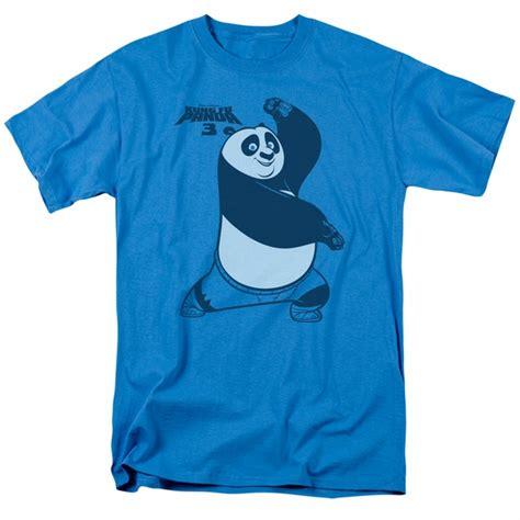 T Shirt Kungfu Panda 3 kung fu panda 3 shirt fighting stance turquoise t shirt