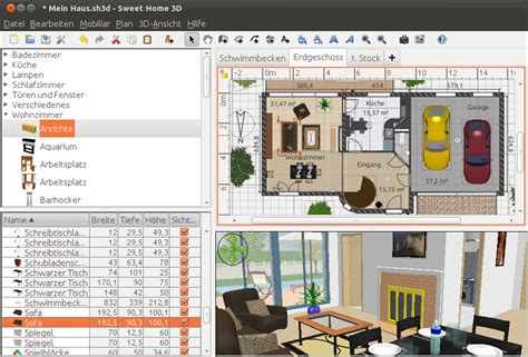 3d and 2d home design software suite louis的3c筆記 open source室內設計軟體