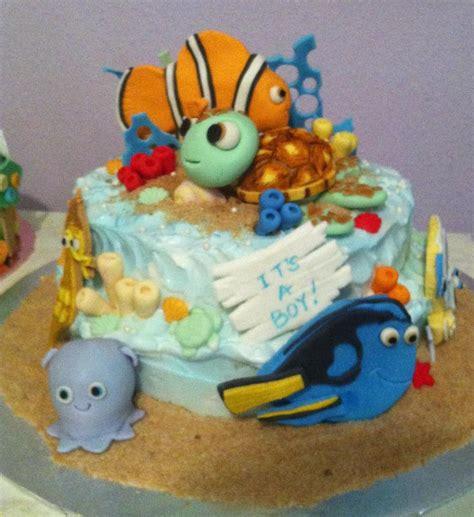 Nemo Baby Shower Cake by Finding Nemo Cake From Sweet P S Custom Cakes In Port Fl 34953