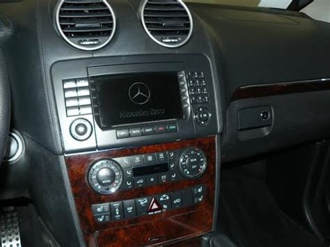 for mercedes benz gl ml class car stereo radio removal