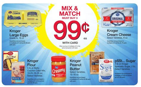 Mix Match On Sale by Kroger Mix Match Sale My Dallas
