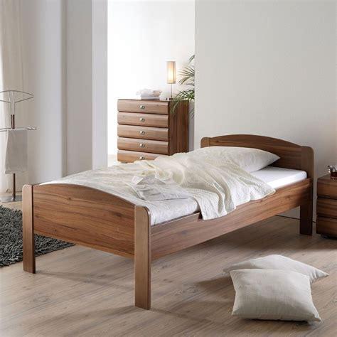 einzel bett einzelbett lucas in walnuss dekor 100x200 cm wohnen de