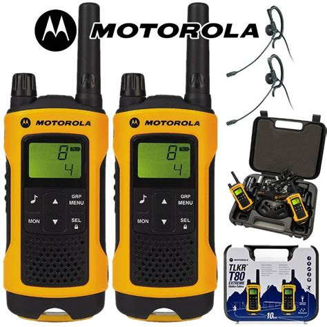 Motorola Walkie Talkie Tlkr T80 motorola tlkr t80 walkie talkie 10km