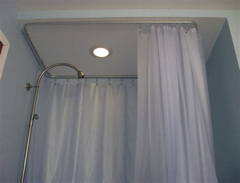 quarter round shower curtain rod round shower curtain rod target home design ideas