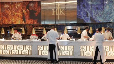 gordon ramsay s newly opened hell s kitchen restaurant in