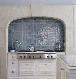 Blue Tile Kitchen Backsplash Carerra S Kitchen Bumble Brea S Design Diary