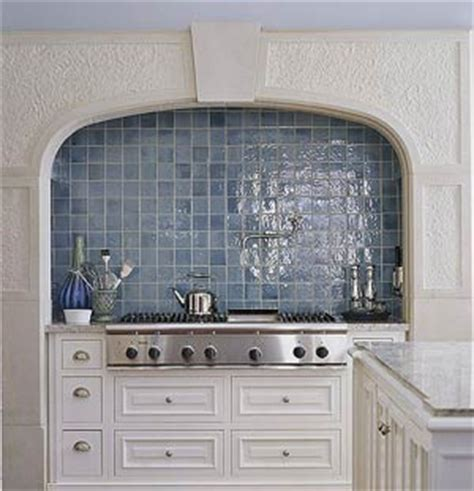 blue tile kitchen backsplash carerra s kitchen bumble s design diary
