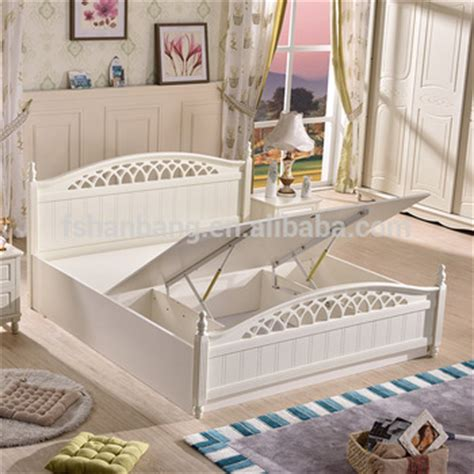 2016 Latest Storage Bed Furniture Wooden Double Bed Designs With Box Storage   Buy Storage Bed