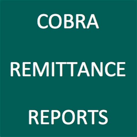 cobra: remittance reports – 24hourflex