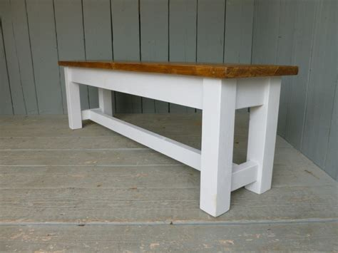 Pine Kitchen Bench antique reclaimed pine kitchen bench