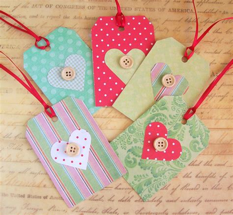 Handmade Gift Tags Ideas - artangel handmade gift tags tutorial