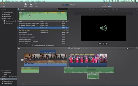 tutorial for imovie 9 0 9 waveforms show what you hear in imovie
